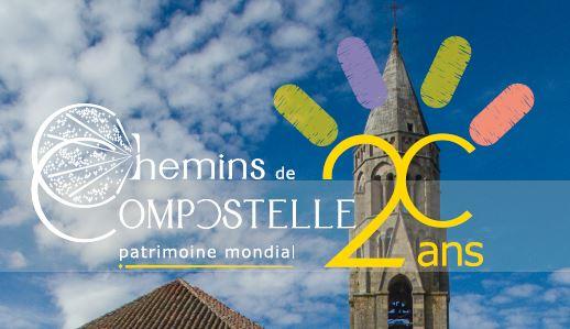 Célébrons les 20 ans des chemins de Compostelle à l'UNESCO