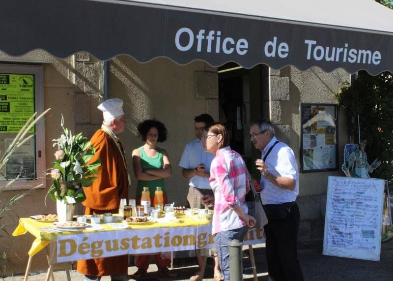 Accueils gourmands à l'office de tourisme de Noblat