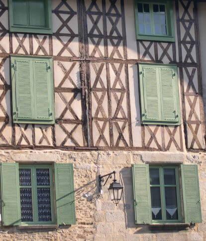Façades de Saint Léonard de Noblat, Sites et Cités Remarquables en France
