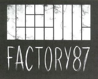 Logo de Factory87, espace de création artistique à Saint Léonard de Noblat