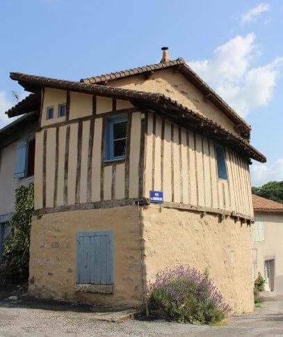 Maison ancienne du quartier de Noblat