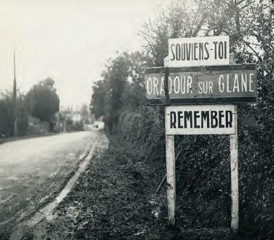 Oradour sur Glane, le village martyr de la seconde guerre mondiale
