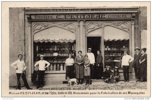 Pâtisserie de Camille Petitjean - le massepain de Saint Léonard de Noblat