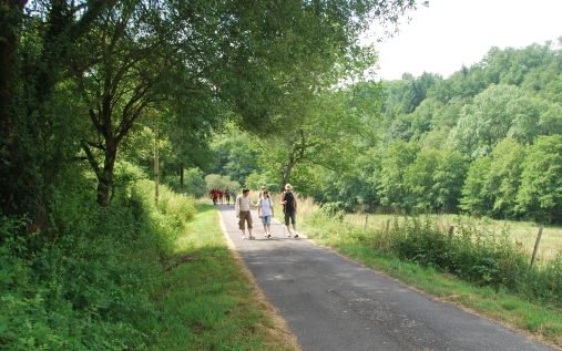 Randonnée sur le territoire de Noblat, Limousin